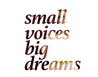SMALL VOICES BIG DREAMS / CHILDFUND ALLIANCE