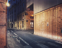 Paris by night - iPhone street