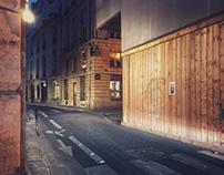 Paris by night - iPhone street