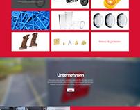 Langer Web & Brochure Design
