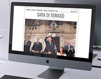 Sara Di Tomaso - Diseño de Website