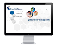 Vital Living website