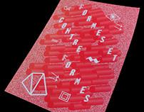 Affiche Formes et contre formes 2 I 2012