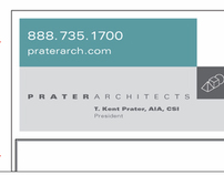 Prater Architects, Branding Identity System