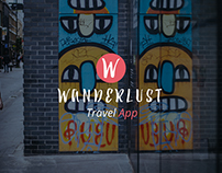 Wanderlust - Unique traveling app / UI-UX Design