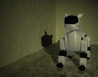 3d Model of Aibo Robot Dog