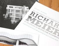 Richard Meier Event Poster