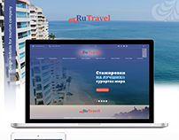 RuTravel – design website for tourism company
