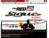 RED LTH Landing Page