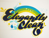 Elegantly Clean - logo