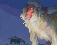 Gargantuan Macaque