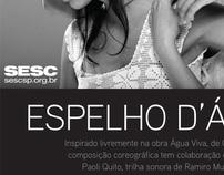 Divulgação eletrônica - SESC Pinheiros