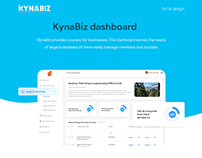 KynaBiz dashboard