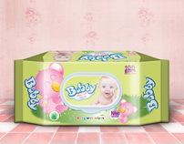 BOBBY - BABY WET WIPES