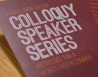 Colloquy Speaker Series