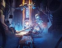 Realtime Concept Art - Dreams PS4