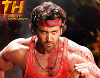 Agneepath Indian Movie - Print Campaign - Pakistan.