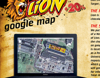 DIGITAL, AMBIENT - Nestle, Lion, Google Maps