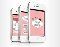 Periyot Günlüğü iPhone Application