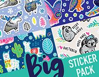 Big Sticker Pack #1