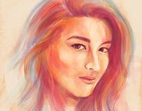 Liza Soberano iPad Art