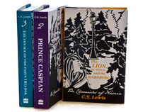 The Chronicles of Narnia book cover redesign