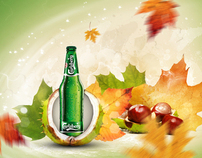 Carlsberg autumn desktop wallpaper