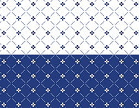 PATTERNS: PORTUGUESE TILE inspired