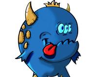 Borris Doodle Monster