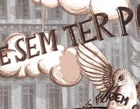 Chá de fita poem illustration