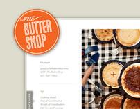 The Butter Shop, Website