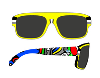Retro hipster sunglasses for ADIDAS eyewear