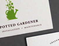 The Potted Gardener, Business Cards