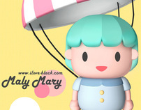 "Characters Design ""MalyMary"""