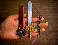Miniature Legendary Weapons