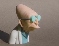 Professor Hubert J. Farnsworth - 3d print