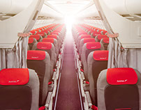 Austrian Airlines - A320 Interior
