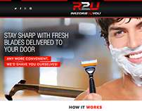 Razors To You website
