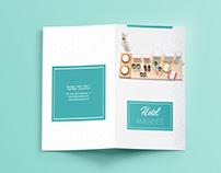 Bi-Fold Brochure Design || Hotel Amenities