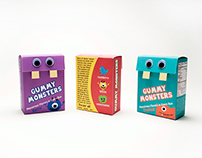 Sour Monsters Packaging