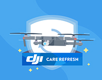 DJI Care Refresh: Animated Explainer Video