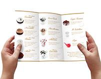 Dessert Menu and Photoshoot