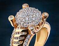 Jewelry Photography - Gold Ring