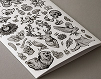 Hero Hoodies - Pattern illustrations