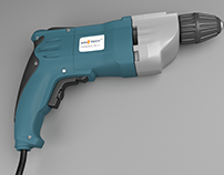 3D modeling an electric drill