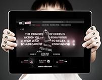 BLACK XS Website