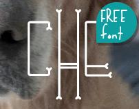 CHE's Bone - Free Font