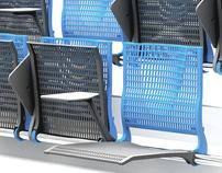 """Butaca Ideal 2012 """" School Auditorium Seat"""""""