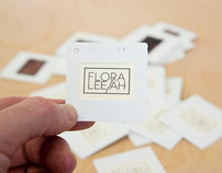 Handmade 35mm Slide Business Cards