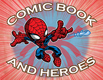 COMIC BOOK AND HEROES